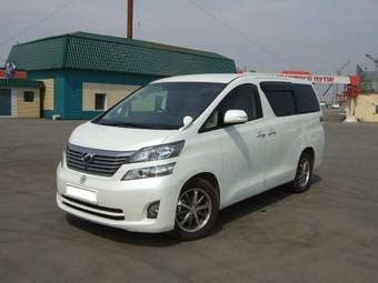 Toyota Vellfire Picture by 2008 Toyota Vellfire Pictures 2 4l Gasoline Automatic