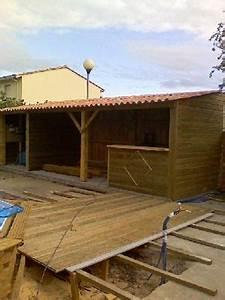 boisylva aquitaine multiservices construction bois With cuisine d ete en bois