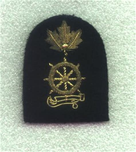 Boatswain Course by Regulating Branch Commonwealth Badge
