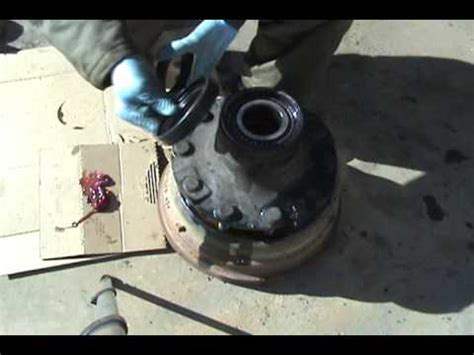 volume iv wheel seal replacement front youtube