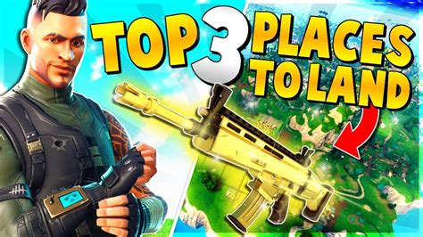 Top 3 Unknown Places To Land For Easy Wins And Legendary