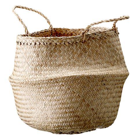 chambre de basket seagrass basket 35cm bloomingville bloomingville
