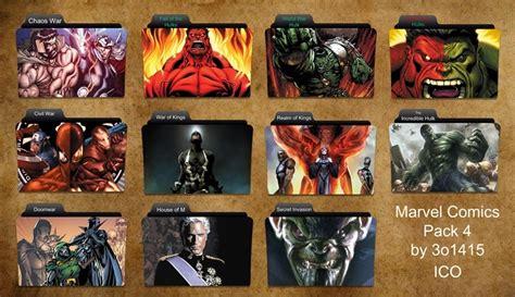 marvel comics folder icons     deviantart