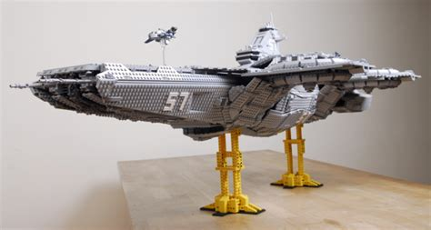 front facing carrier 15 000 brick lego s h i e l d helicarrier blows out the
