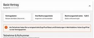 Meinvodafone De Rechnung : mobilfunk rechnung finden drucken ~ Themetempest.com Abrechnung