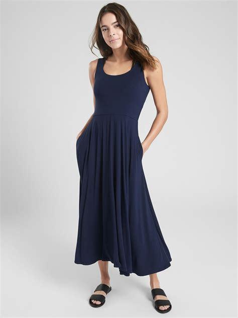 Costa Midi Dress   Athleta   Casual dresses, Dresses, Midi ...