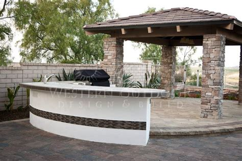 Backyard Bbq Bar Designs by San Diego Landscaper Western Outdoor Design Build Bbq