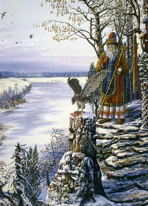 Eery Elegance: Russian Mythology