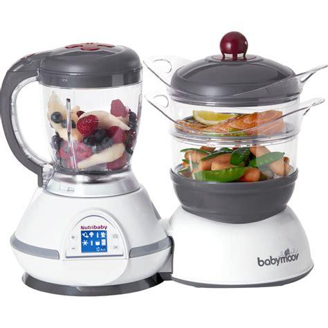 robot de cuisine facile et pas cher nutribaby babymoov sur bebeconcept
