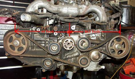 Subaru Legacy Timing Belt by Replacing Timing Belt On An Ej22 Nasioc
