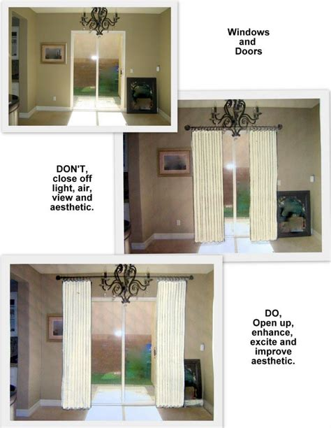 how to hang curtain rod sliding door curtain rods
