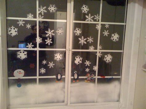 window christmas decoration tutorial youtube