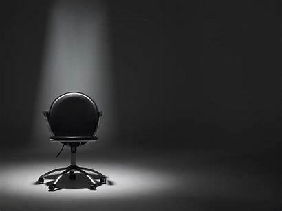 Empty Chair Spotlight Office