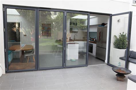 sl air aluminium bifold folding door system slimline glazing