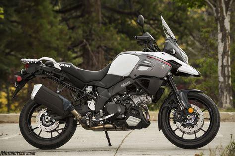 Honda Suzuki by 2018 Suzuki V Strom 1000 And V Strom 1000xt Review