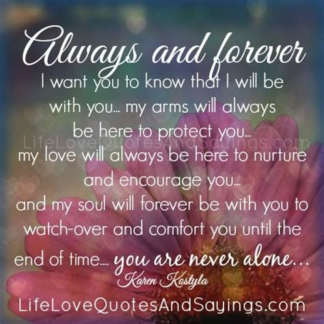 Love You Forever And Always Quotes