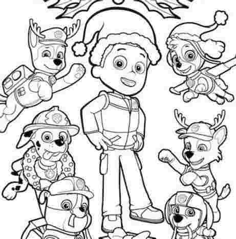 Ryder Coloring Pages Coloring Home