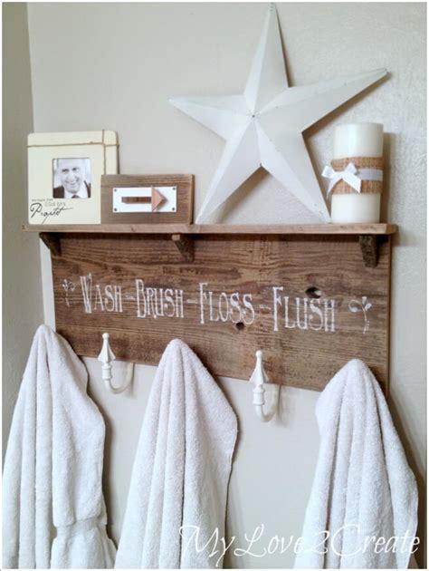 bathroom towel hooks ideas 15 cool diy towel holder ideas for your bathroom