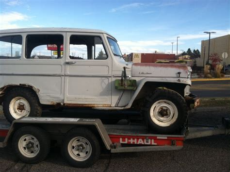jeep willys wagon for sale 1961 willys jeep panel wagon truck 4 4 for sale