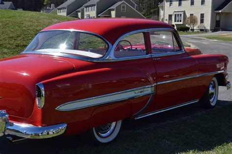 Chevrolet Dealers Nc by 1954 Chevrolet Bel Air Stock A182 For Sale Near