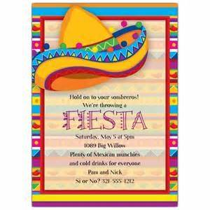 free fiesta invitation templates invitation template With free printable mexican wedding invitations