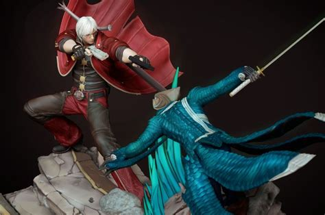 9 best may cry sons of sparda dioramas images on
