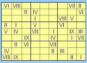10 En Chiffre Romain : latin pour les nuls enfin un sudoku en chiffre romain ~ Melissatoandfro.com Idées de Décoration