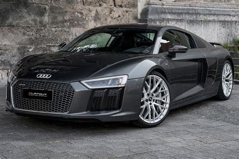 Audi R8 V10 Plus  Grau  Flatout Sportwagenvermietung In