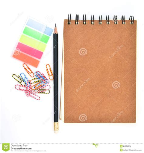 fournisseur de bureau fourniture de bureau photo stock image du couleur signet
