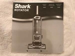 Shark Rotator Owner U0026 39 S Manual   Guide Nv652
