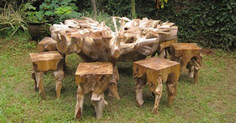 teak root furniture indonesia eco friendly products
