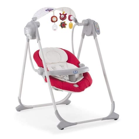 Discount Baby Swings by Chicco Balancelle Polly Swing Up Paprika Paprika Achat