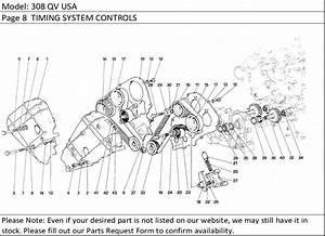 Buy Ferrari Part   111334 Camshaft Timing Belt  F40  F 40