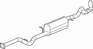 Chevrolet Silverado 3500 Exhaust Muffler