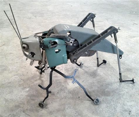 Awesome Typewriter Assemblage Sculptures by Awesome Typewriter Assemblage Sculptures