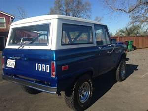 Find Used Very Clean 1971 Ford Bronco 4x4 302 V8 3 Spd