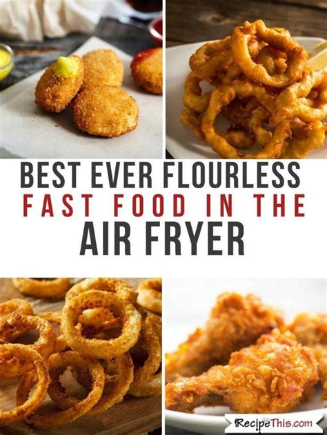 fryer chicken air tenders food fast recipe recipes flourless oven recipethis without fried flour power easy gluten several delicious tender