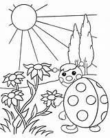 Sunrise Coloring Waiting Cartoon Mitraland sketch template