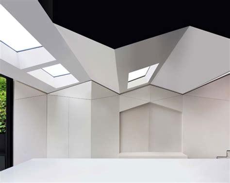 bureau de change forms pleated roof for home extension