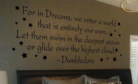 Wall Decal Art Vinyl Lettering Large Dumbledore Harry
