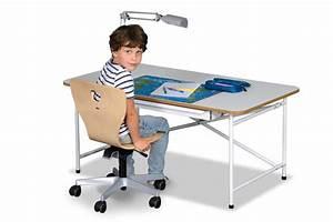 Schreibtisch Kinder Höhenverstellbar : kinder schreibtisch kinto h henverstellbar kinderzimmer ~ Lateststills.com Haus und Dekorationen