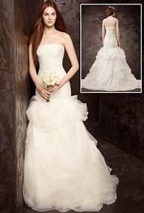 4 white by vera wang dresses at davids bridal bridal dress for White by vera wang wedding dress