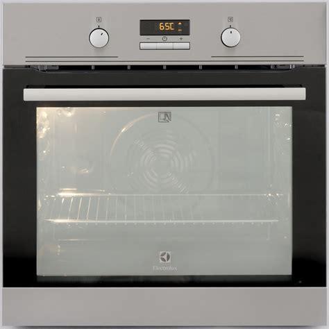bandeau inox pour cuisine test electrolux eoc3485aox four encastrable ufc que