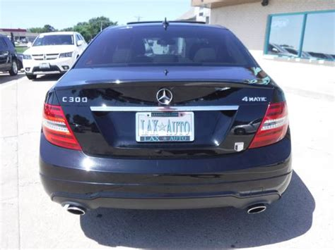 The final sale price will likely be less depending on the vehicle's actual condition, popularity, type of warranty offered and local. 2013 Mercedes-Benz C-Class C300 4MATIC Sport Sedan * 89K Miles for sale in Denver , CO ...