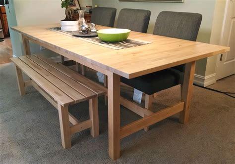 Table Bois Ikea Norden Wrastecom