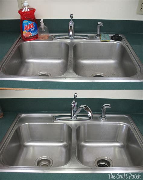 stainless steel kitchen sink cleaner the craft patch tested stainless steel sink 8263