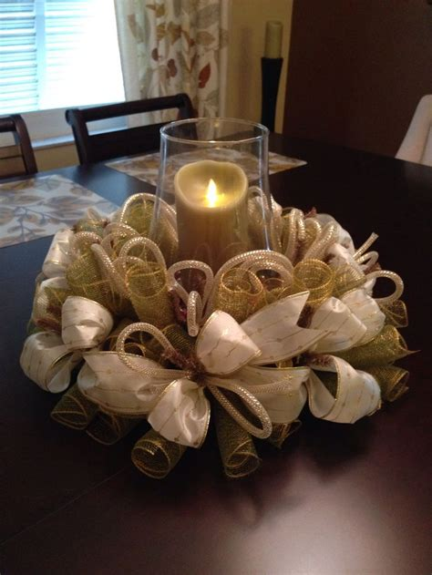 christmas table wreath centerpieces 17 best images about wreaths on summer wreath deco mesh and wreath