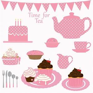 Tea party clipart - Clipground