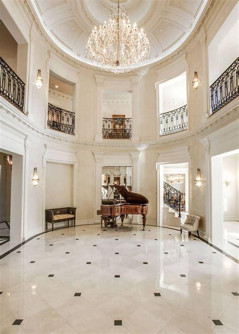 french renaissance chateau style mansion  elegant curb