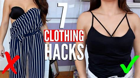 7 Clothing Hacks Every Girl Must Know !! Youtube